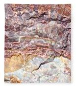 Rainbow Wood Fleece Blanket