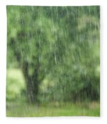 Rainfall Fleece Blanket