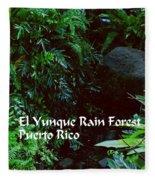 Rainforest Fleece Blanket