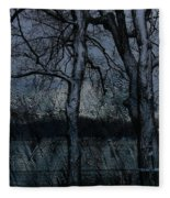 Rainy Days And Mondays- Feature-barns Big And Small-visions Of The Night-photography And Textures Fleece Blanket