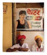 Life Of Rajasthan Fleece Blanket