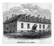 Raleigh Tavern, 1770s Fleece Blanket