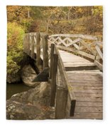 Ramsey Creek Scene 6 Fleece Blanket