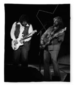 Randy And C.f. Rockin Out In Spokane In 1976 Fleece Blanket