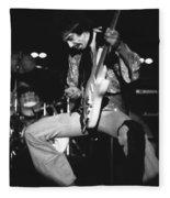 Randy Hansen Experiencing Things In 1978 Fleece Blanket