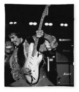 Randy Hansen In Idaho 1978 Fleece Blanket