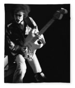 Randy Hansen Rocking In 1978 Fleece Blanket