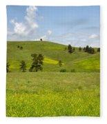Rangelands Of Custer State Park Fleece Blanket