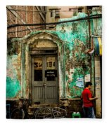 Rangoon's Colonial Remains Fleece Blanket