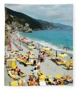 Rapallo Beach Fleece Blanket