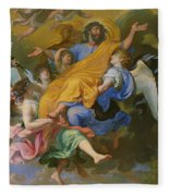 Rapture Of Saint Joseph Fleece Blanket