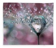 Rasberry Sparkles Fleece Blanket