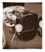 Rat Rod Fleece Blanket