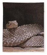 Rattlesnake Fleece Blanket