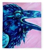 Raven Song Fleece Blanket
