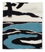 Ravens Fleece Blanket