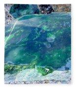 Raw Jade Rock Fleece Blanket