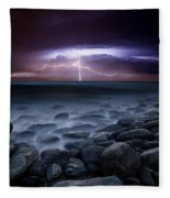Raw Power Fleece Blanket