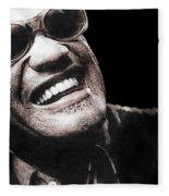 Ray Charles Fleece Blanket