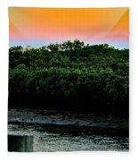 Rays Of Days Fleece Blanket