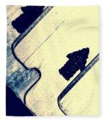 Razor Blades Fleece Blanket