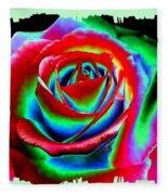 Razzle Dazzle Rose Fleece Blanket