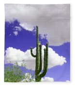 Reach Out And Touch The Sky Fleece Blanket