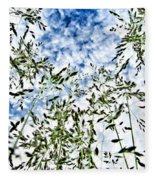 Reach To The Sky Fleece Blanket