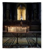 Reaching. Duomo. Milano Milan Fleece Blanket