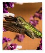 Reaching For The Nectar Fleece Blanket