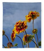 Reaching For The Sky Fleece Blanket