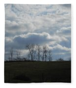 Reaching To The Clouds Fleece Blanket