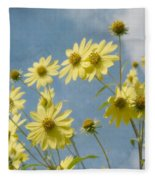 Reaching To The Sun Fleece Blanket