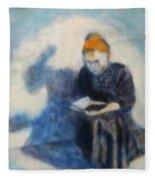 Reading #1 Fleece Blanket