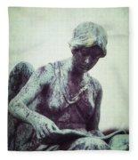 Reading Angel Fleece Blanket