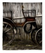 Ready To Ride - Featured In Both Groups Spectacular Artworks Of Faa And Cards For All Occ  Fleece Blanket
