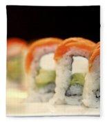 Ready To Serve Sushi  Fleece Blanket
