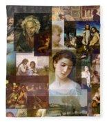 Realism 1850s To 1890s Fleece Blanket