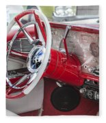 Really Red 1959 Lincoln Interior Fleece Blanket