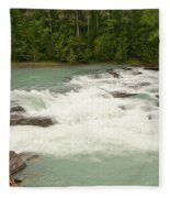 Rearguard Falls Of The Fraser River Fleece Blanket