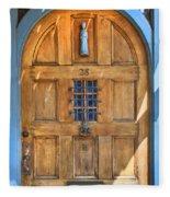 Rectory Door Fleece Blanket