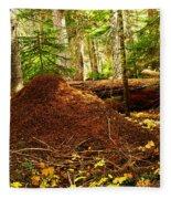 Red Ants Nest Fleece Blanket