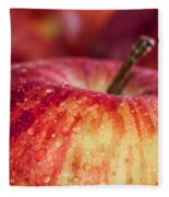 Red Apple Fleece Blanket