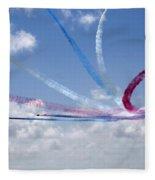 Red Arrows Aerobatic Display Team Fleece Blanket