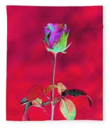 Red Beauty Fleece Blanket