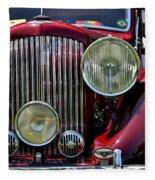 Red Bentley Grill Fleece Blanket