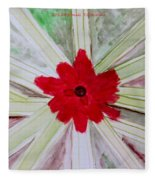 Red Brilliance Fleece Blanket