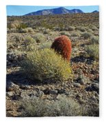 Red Cactus Fleece Blanket
