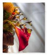 Red Cala Fleece Blanket