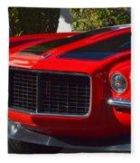 Red Camaro Fleece Blanket